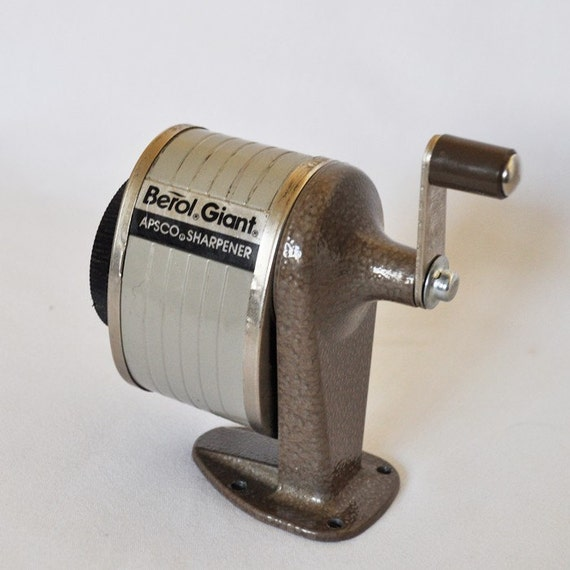 Vintage Berol Giant mountable pencil sharpener