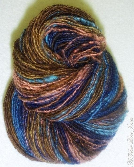 ... Thin spun Art Yarn - Knitting - Weaving - Crochet- Fiber Arts