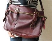Handmade Genuine Leather Bag - Made to order
