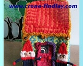 Gnome Dolls and Gnome House to Weave on the Potholder Loom by Noreen Crone-Findlay