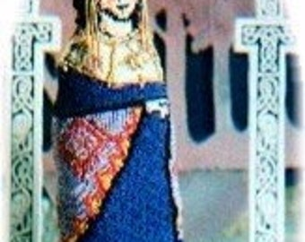 Pattern for Empress Theodora Doll by Noreen Crone-Findlay