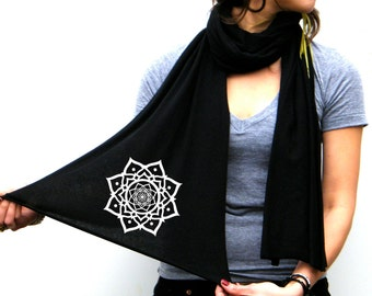 Lotus - American Apparel Scarf - Long and Light - His and Her