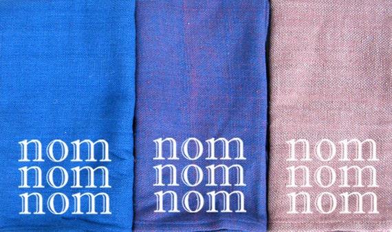 Nom - Fair Trade Cloth Napkins - Cotton - Set of 4