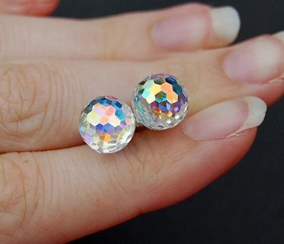 Diamond Skin Earrings - Edward Collection- Twilight Inspired