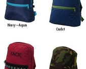Small Backpacks for Preschool and Toddler Boys...Add Monogram