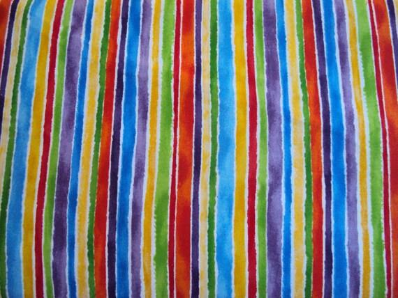 Bright Stripe Fabric -1 Yard - Timeless Treasures