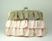 MOVING SALE - Cascadia Clutch - Seashell Pink & Pink Latte