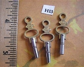 Vintage Antique Watch-  Pocket watch keys- Steampunk - Altered art H13