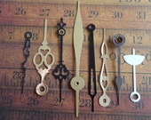 Vintage Antique Watch parts Clock Hands- Steampunk - Scrapbooking k65