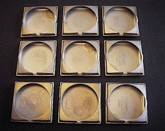Vintage Antique Watch parts cases backs- Steampunk - Scrapbooking p4