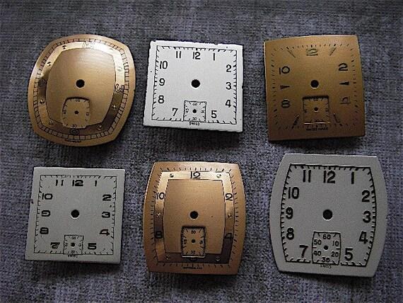 Vintage  Watch Faces - Steampunk - Scrapbooking r10