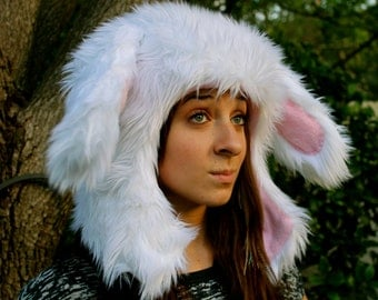 Little Bunny Fufu furry animal hat