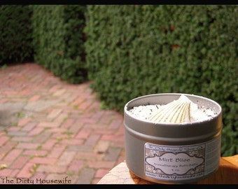 Mint Bliss Aromatherapy Salt Bath 4 oz.