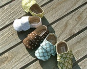 Baby Boy Shoes -  in Green, Brown, Blue, Grey