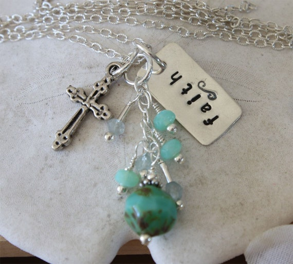 Faith Makes Anything Possible Necklace