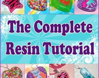 The Complete Resin Tutorial - Resin Basics Tutorial Plus Three Project Ideas