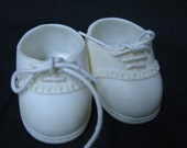 CABBAGE PATCH DOLL SHOES VINTAGE WHITE TENNIS SHOES FOR CPK DOLLS