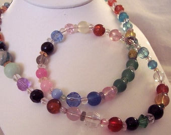 Wow Multi-colored Necklace