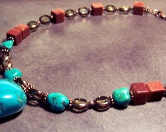 Chunk O' Turquoise Necklace