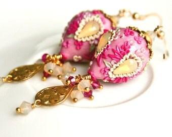 bubblegum - sweet dangling earrings