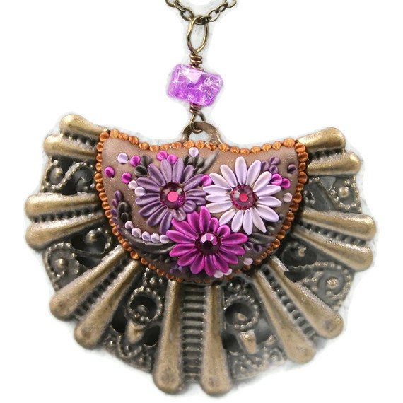 RESERVED for Martina - candyman - dazzling necklace