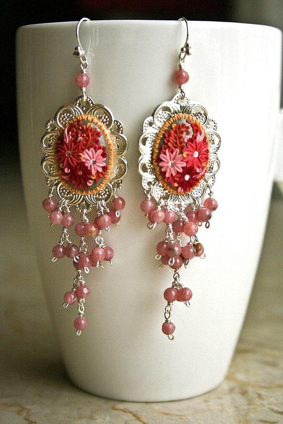 it's raining sweetness - lush cascade earrings