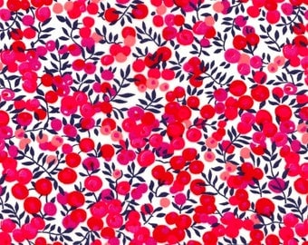 Wiltshire S Pink Liberty of London Tana Lawn Fabric One Yard