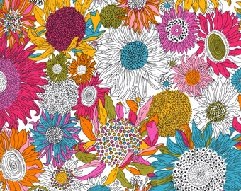 Liberty Fabric Susannah Rainbow Tana Lawn Fat Quarter