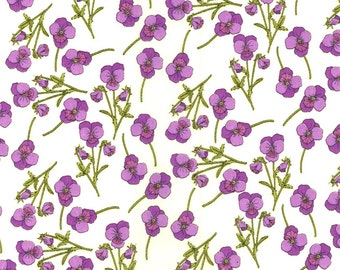 Liberty Fabric Ros A Violet Tana Lawn One Yard