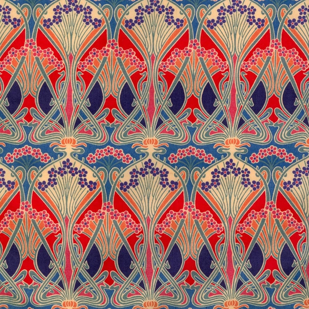 Ianthe Classic Red Liberty Tana Lawn Fabric Fat Quarter