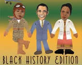 Black History Stick Puppet Kit