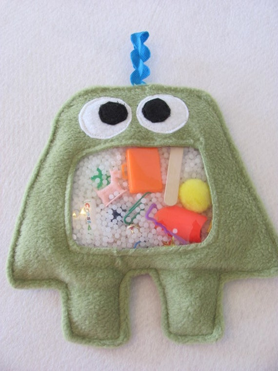New MONSTER I Spy Bag - Green - limited time only - LARGE size