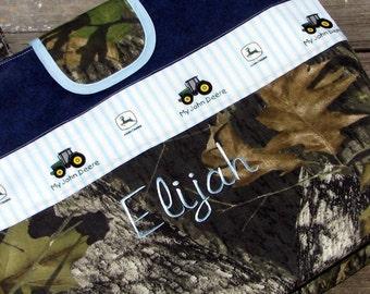 Mossy Oak Camo My First John Deere Personalized Diaper Bag Tote