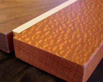 Walnut and Lacewood Cutting Board
