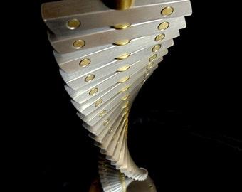 Spiral Metal Sculpture