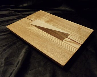 Ash Cutting Board w/ Feet