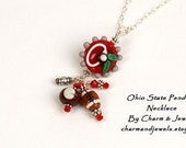 Ohio State Necklace