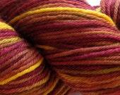 Merino DK weight yarn, handpainted