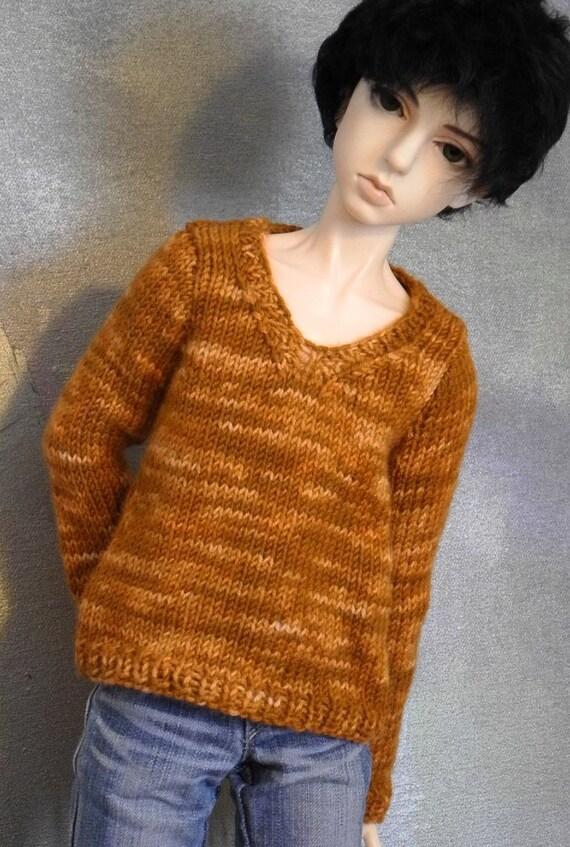 SD BJD boy sweater Peanut Brittle