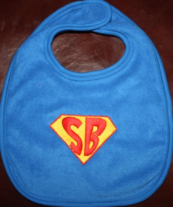 Super Baby  Superhero Baby Bib