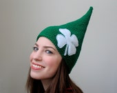 Luck 'O the Irish - Halloween Shamrock St. Patricks Day Leprechaun Elf Hat