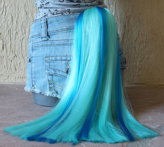 Items Similar To Vinyl Scratch Tail Clip On Costume