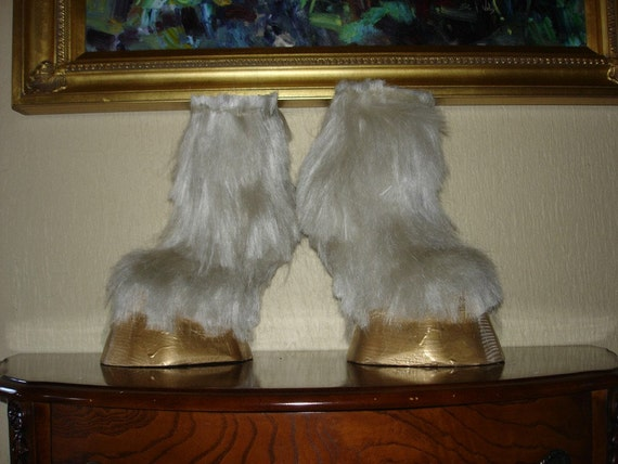Items similar to Unicorn\/Horse fantasy Costume Hoof Boots ...