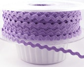 Wholesale Tiny 3mm (1/8 inch) Ric Rac Lavender Color (50 yard spool) I7033 C721