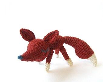Bernard The Fox - Amigurumi Pattern