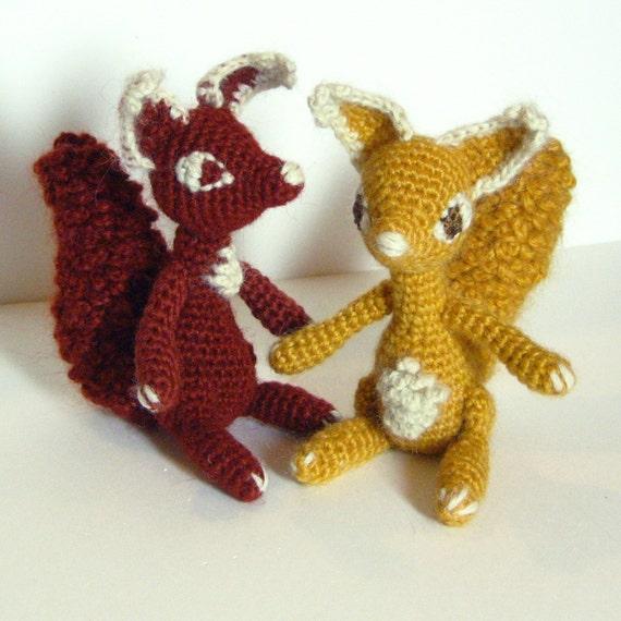 Amigurumi Squirrel Crochet Pattern : Scarlett The Squirrel Amigurumi Pattern