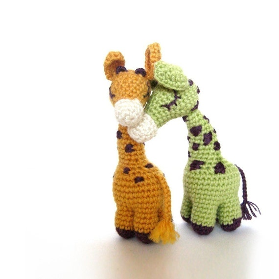 Dreamy Giraffes - Amigurumi Pattern