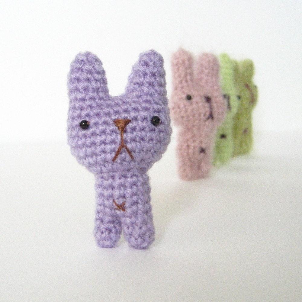 Tiny Amigurumi Patterns Free : My Tiny Bunny Amigurumi Pattern