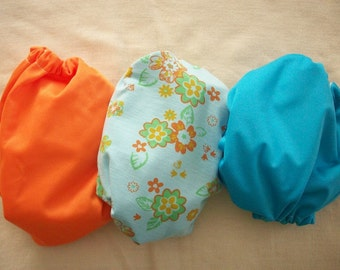 Coordinating Set of 3 MamaBear One Size diaper covers