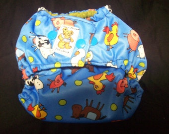 MamaBear BabyWear Waterproof Diaper Cover, Wrap One Size Fits All